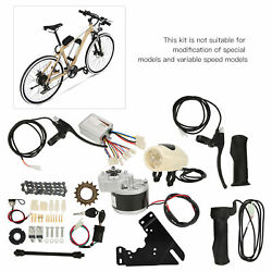 Electric Bicycle Motor Accs Conversion Bike 36v 250w Controller Combination Set