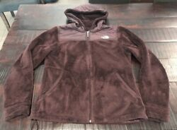 The Northface Women's Hooded Fleece Jacket Medium $30.00