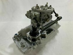 Holley Dominator 1050cfm Methanol Carb With Brodix High Velocity Intake Extras