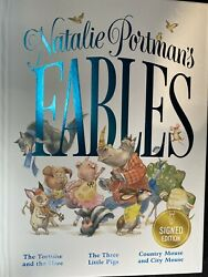 Natalie Portman Signed Fables Childrens Kids Book- Star Wars- First Edition