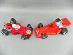 Vintage 1970s Tonka A.j. Foyt 14 Indy Car Early Steel 2 Red Metal Race Car Lot