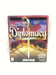 Avalon Hilland039s Diplomacy The Game Of International Intrigue Cd 1999 Sealed Nos