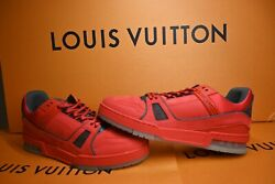 Louis Vuitton Low-top Lv 408 Trainer Rare Size 8lv/ 9us.. Never Tried On