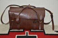 Rrl Handmade In England Saddle Bridle Leather Doctorand039s Duffle Bag