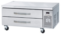 Blue Air Commercial 2 Drawer 36 Flat Top Chef Base Refrigeration Bacb36-hc