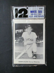 Vintage 1962 Jay Publishing Chicago White Sox Picture Pack Set W/fox And Aparicio