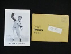 Vintage 1962 Jay Publishing St. Louis Cardinals Picture Pack Musial And Gibson