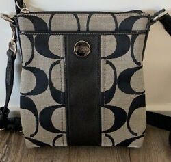 Coach Crossbody Signature Bag with NEW Cleaner $45.00