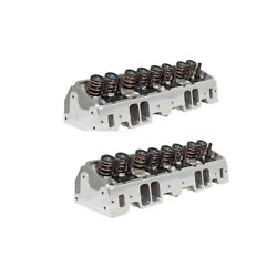Air Flow Research 0914 W/6400 Sbc 190 Vortec Corona Series Cyl. Heads Pair