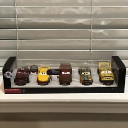 Disney Cars 3 Crazy 8 Deluxe Gift Set Diecast Metal Collectible 5pc Set New Rare