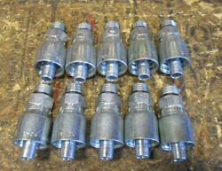 10 Pack Intertraco Hydraulic Fittings Mb-06-06 Male Boss Oring Orb Fitting