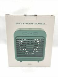 Portable Mini Summer Water-cooled Air Conditioner Desktop Misting Cooling Fan