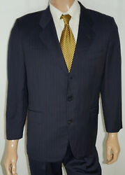 41s Carroll And Company Hermitage 2-piece Suit – Men 41 Navy Connaught Group 36x28