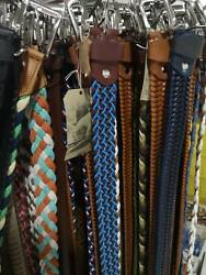 Sell A Lot 1000 Pcs Assorted Handmade Genuine Leather Belts Mix Colours Sizes