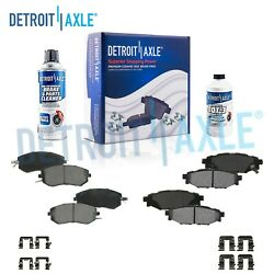 Front And Rear Ceramic Brake Pads For 2013 2014 2015 Subaru Forester Brz Impreza