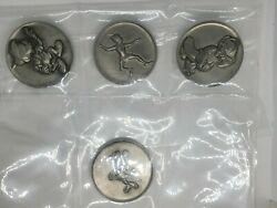 Kirk The Magic Of Disney Mickey Pinocchio Minnie Mouse Peter Coin Medallion 99