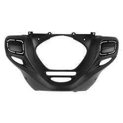 Matte Black Front Lower Engine Cowl Cover Fit For Honda Goldwing F6b 2013-2015