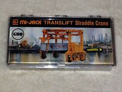 Ghq 50-001 Etched Brass And Pewter Mi-jack Translift Straddle Container Crane