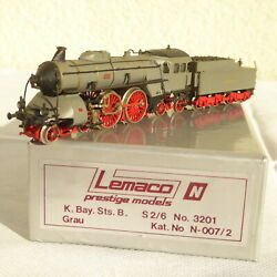 Lemaco N 007-2 Brass Small Series Steam S 2/6 Bayern Gray Fotolackierung Boxed