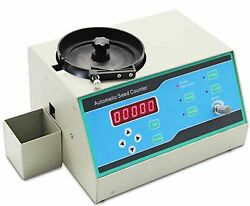 Cgoldenwall Automatic Seeds Counter Counting Machine With Adjustable Seed Dro...