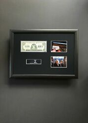 Extremely Rare The X Files Hell Money Note Original S03 Screen Used Prop Framed