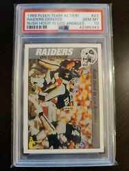 Bo Jackson 1988 Fleer Team Action 23 Rc Rookie Psa 10 Rush Hour In L.a. Pop 4
