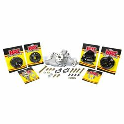 Krc Kit16312615 Pulley Kit 6 Rib Serpentine For Small Block Chevy New