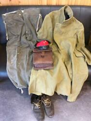 Wwii Imperial Japanese Army Military Uniform Set Coat, Cargo Pants, Boots, Hat,