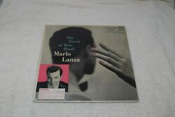 Mario Lanza- The Touch Of Your Hand, Rca Victor Lm1927, 7s/10s, Shaded Dog, Nm