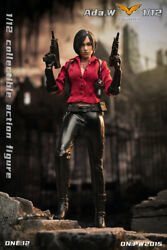 Pwtoys 1/12 Pw2015 Female Agent Ada Wong 6and039and039 Action Figure Model Doll Toys