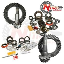 Nitro Gear And Axle 4wd 11-16 F250 F3504.56 Fr And Rr Gear Incl Ngmkfrt Axle Seals
