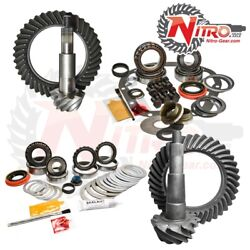 Nitro Gear And Axle 4wd 11-16 F250 F3504.56 Fr And Rr Gear Incl Ng,mk,frt Axle Seals