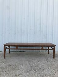 Mid Century Modern Long Coffee Table By Mersman