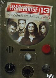 WAREHOUSE 13: THE COMPLETE SERIES 16 DVD Box Set New Free Shipping $34.75