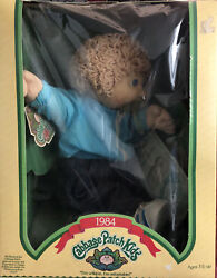 Vintage 1984 Cabbage Patch Kids. In Original Box With Birth Certificate - Rare