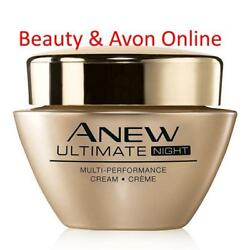 Avon Anew Ultimate Multi-performance Night Creamsealed Beauty And Avon Online