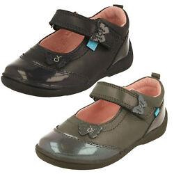 Girls Startrite Mary Jane Style Casual Leather Shoes Swing