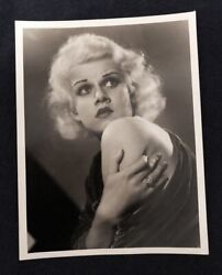 Vintage Jean Harlow 1932 Clarence Sinclair Bull