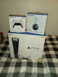 Sony Playstation 5 Disc 825gb Extra Wireless Control Pulse 3d Wireless Headset