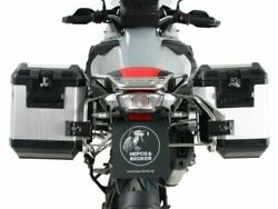 Bmw R1250gs Adventure Panniers Xplorer Silver And Carrier Hepco And Becker 2019