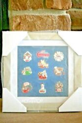New Disney Very Merry Christmas Party Pin Set - 2011 Framed Set - 9 Pins