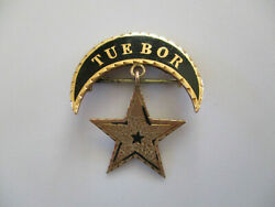 Civil War Named Dated 1876 Michigan Vol Inf Gold Cavalry Corps Badge Pin Rare