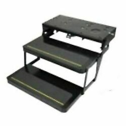 Lippert 372558 Kwikee Platinum Double Tread Electric Folding Entry Step New