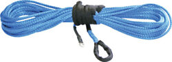 Kfi 1/4 Synthetic 50' Utv Winch Cable Blue 30-0077 Syn25-b50