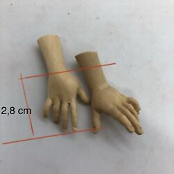 Hands Wood For Shapes Woman Wood Feet Release Pastors Crib 1 1/8in Palm Finger