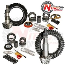 Nitro Gear And Axle Fits 11-17 Chevy/gmc 2500/3500hd W/ Diesel 4.56 Fr And Rr Gear