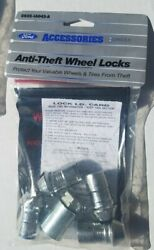 Genuine Ford Wheel Lock Set Lincoln Continental Mkx Mkz Mustang Fusion Edge
