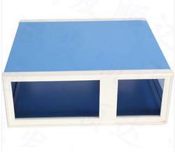 Metal Blue Project Junction Box Enclosure Case 310 X 115 X 285 Mm Chassis