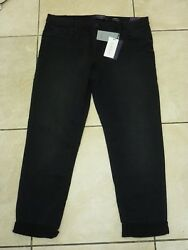 Violeta By Mango Comfy Relaxed Low Waist Jeans Size 14 Uk Bnwt Rrp £49.99 Black