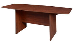 Sandia 120 Boat Shape Conference Table Featuring Lockdowel Assembly